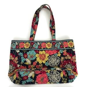 Vera Bradley Tote Shoulder Bag Retired Happy Snail